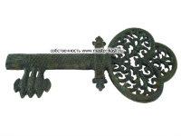 Ажурный незабвенный кнопка «1747- КАСЛИ». Каслинское литье. Материал чугун.
