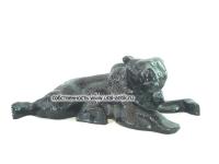 Скульптура-миниатюра настольная кабинетная «МЕДВЕДИЦА ЛЕЖАЩАЯ (пресс-папье)» 0980-х годов выпуска. Каслинское литье.